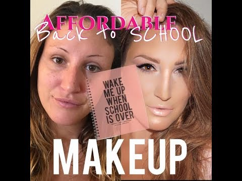 AFFORDABLE DRUGSTORE BACK TO SCHOOL MAKEUP