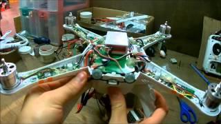 Walkera qr x350 pro LVC Mod