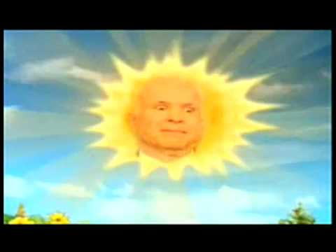 mccain to teletubbies get off my lawn reversed
