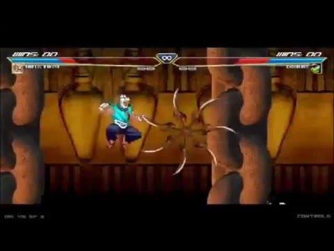 Mortal Kombat vs Street Fighter 3 Akuma vs Chameleon  HQ