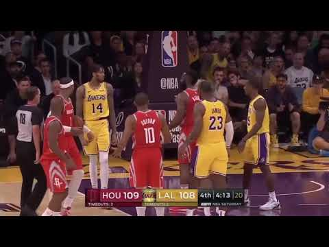 LAKERS VS ROCKETS FULL FiGHT/BRAWL! Mp3