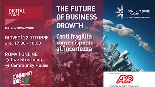 Youtube: The Future of Business Growth | Digital Talk | ADP