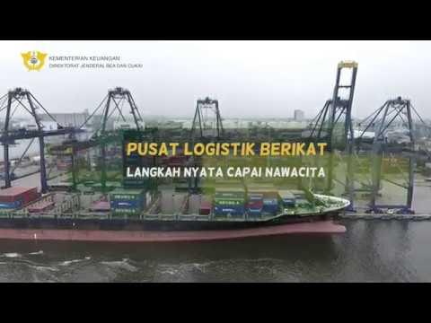 Pusat Logistik Berikat Langkah Nyata Capai Nawacita