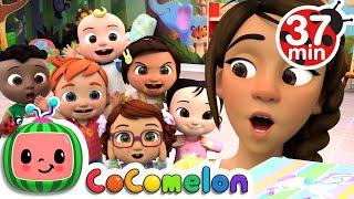 Head Shoulders Knees and Toes   More Nursery Rhymes & Kids Songs - CoComelon