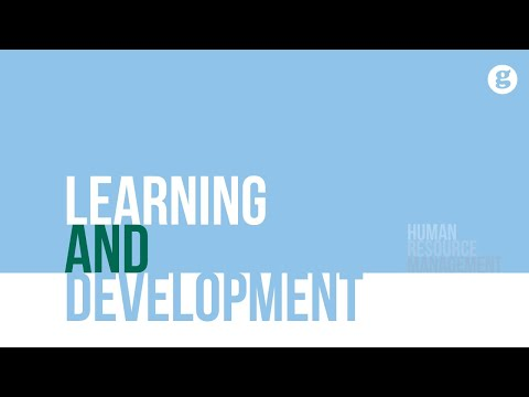 Learning and Development - YouTube