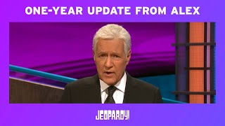 A One-Year Update From Alex | JEOPARDY!