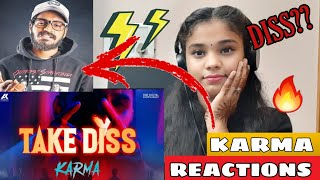 "Girl's Reaction On ""Take Diss"" Karma X Deep Kalsi"
