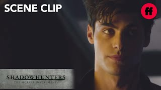 Shadowhunters | Season 1, Episode 1: Alec & Izzy With New Girl | Freeform