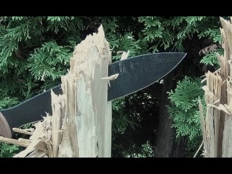TOPS Power Eagle Bolo Knife Machete Review