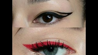MAKEUP TUTORIAL COMPILATION - EYELINER!