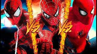 SPIDERMAN VS. SPIDERMAN VS. SPIDERMAN ║ COMBATES MORTALES DE RAP ║ JAY-F, IVANGEL MUSIC & DOBLE CERO