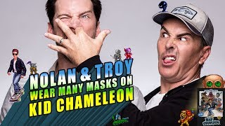 Nolan North and Troy Baker Wear Many Masks on Kid Chameleon