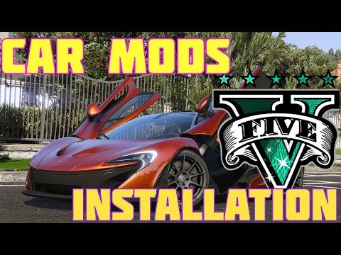 How To Install Car Mods In GTA 5 PC (2017)