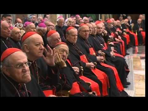 Les voeux du Pape François à la Curie romaine