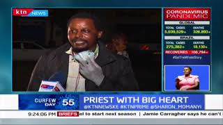 Priest with Big Heart: Catholic Priest, Father Mugambi feeds up to 250 homeless children in Meru