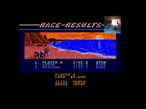 Shim Plays Road Rush (1991) on Sega Super Drive II