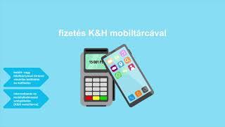 K&H mobiltárca működés