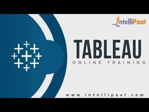 Tableau Desktop Tutorial | Tableau Desktop Training | Online ...