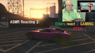 hard candy drifting reaction to ELDERS PLAY GTA V