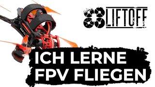 Ich lerne Drohne (FPV) fliegen - Liftoff Simulator - FPV Deutsch German