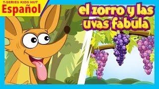 El Zorro Y Las Uvas Fabula  Cuentos Infantiles En Español  Fábulas Para Niños