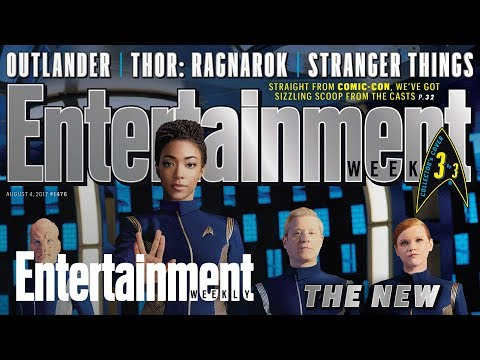 'Star Trek: Discovery': Go Behind The Scenes With The Cast | Cover Shoot | Entertainment Weekly | MTW