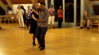 Central Jersey Dance Society Salsa Sensation Bachata lesson with Omi 7 1 17