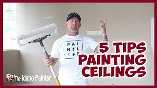 5 Tips Painting Ceilings