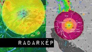 Furcsa körök Magyarország radarképein