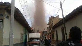 Tornado En México. 22 De Marzo 2014.