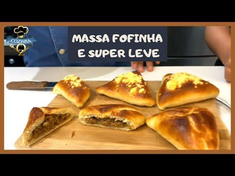 COMO FAZER ESFIHA FECHADA FOFINHA E A MASSA SUPER LEVE