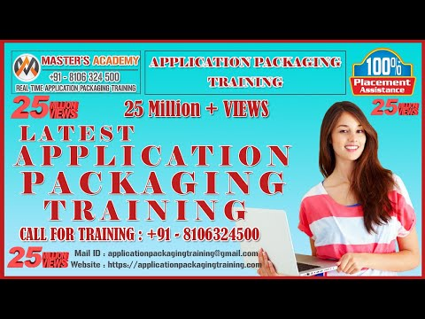 Application Packaging Training Videos | Application ... - YouTube