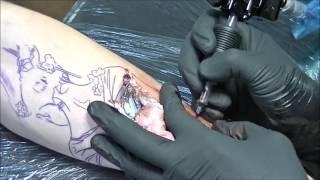 Geisha - Tattoo Time Lapse