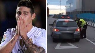 VIDEO COMPLETO persecución de la policía a James Rodriguez por ir a más de 200 k/h