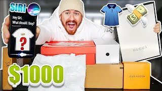 Siri Decides EVERYTHING I Buy For 24 Hours!! *SIRI CONTROLS MY LIFE*