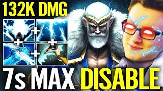 New World Records 133K DMG ZEUS - MIRACLE Solo MID Dota 2 Gameplay