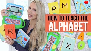 How to Teach the Alphabet *This Method Works!*