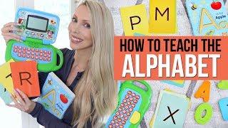 How To Teach The Alphabet *This Method Works!*