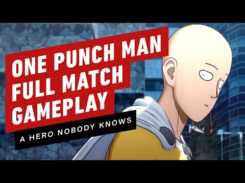 Gameplay de One Punch Man: A Hero Nobody Knows Deluxe Edition