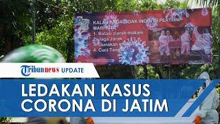 POPULER: Ledakan Kasus Covid-19 di Jawa Timur, Yurianto: Ada Laboratorium Baru Laporkan Data