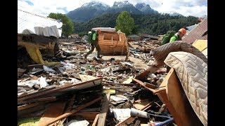Mudslide in southern Chile kills five; 15 others missing