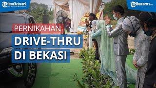 Viral Resepsi Pernikahan Drive-thru di Bekasi Dihadiri 1.300 Tamu, Tuai Komentar Kocak dari Warganet