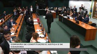 Constituição e Justiça - Leitura do relatório da PEC 410/18 - Condenação após segunda instância - 16/10/2019 09:30