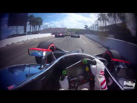 Thrilling onboard views of Lap 1 at St. Pete