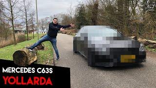Kaza yaptığımız Mercedes C63s AMG artık yollarda! Eskisinden daha iyi! - C63s Crash