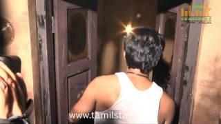 Raj Bharath Speaks at Andhra Mess Shooting Spot