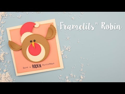How to Make a Christmas Robin Using Framelits - Sizzix