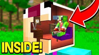 HOW TO LIVE INSIDE OF ASWDFZX IN MINECRAFT?!