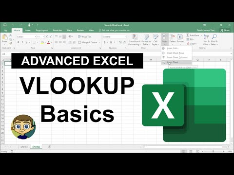 Advanced Excel – VLOOKUP Basics 2017 Tutorial