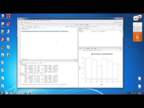 R Programming Tutorial – 17 – Charts and Graphics